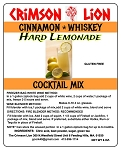 Cinnamon Whiskey Hard Lemonade Cocktail