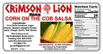 Corn On The Cob Salsa-16 OZ