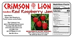 Seedless Red Raspberry Jam-20 oz