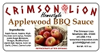 Applewood Barbecue Sauce-19 oz. This barbecue sauce  has that Applewood smoke flavor that makes it our top seller.