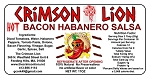 Bacon Habanero Salsa- Spicy: Great for dipping tortilla chips. The bacon flavor adds just the right  flavor to the Habanero peppers. Heat Rating 8/10  Buy  a quantity  of 1-4 for 10% off the regular price