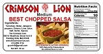 Best Chopped Salsa-16 oz  This has been a solid staple for years with just the right blend of  spice. Great for omelets too. Buy quantity of 1-4 for a 10% discount off regular price.