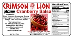 Cranberry Salsa-17 oz