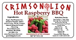 Hot Raspberry Barbecue Sauce: 19 OZ. Our delicious Raspberry bbq sauce with some heat will provide your group with a nice taste and spice at your next bbq.