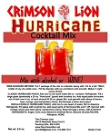 Hurricane Wine Slush Cocktail Mix:  Bring this New Orleans favorite to life as you enjoy this wine slush/ cocktail with your favorite Wine or Rum