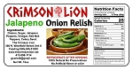 Jalapeno Onion Relish- 16 oz.
