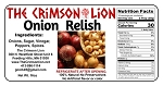 Onion Relish -16  oz.