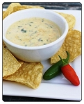 Pepperjack-Dip: This flavor is the most desired choice for a party. Just the right amount of spice and awesome flavor. Spice level is estimated to be 4/5 out of a heat level of 10 being the hottest