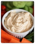 Southwest Jalapeno-Dip: A smooth tasting and tasty dip with just the right amount of spice for most. Can also use to make a delicious Salsa. Rate at 6/10 heat level