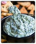 Spinach Artichoke-Dip: A long time top seller and very delicious too.