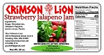 Strawberry Jalapeno Jam- 20 oz.