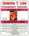 Strawberry Daiquiri : A frosty blender full of strawberry citrus slush will bring a huge smile to those at the party with this delicious flavor.