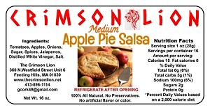 Apple Pie Salsa-16 oz.