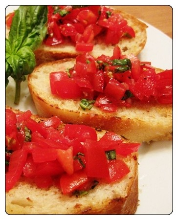 Bruschetta Olive Oil Blend: Tomato & Basil for the ultimate  olive oil  bread dipper. We also make little pizza bites with this product