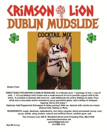 Deal No.19 Dublin Mudslide (3)  Drink Mix Packages- What can we say any further to describe this delicious tasting mix. This is a special offer for a special drink mix