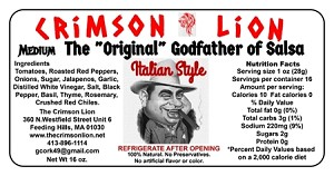 "The ""Original"" Godfather Of Salsa-16 oz."