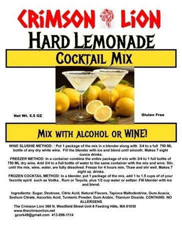 Hard Lemonade: Spiked with some Vodka and blended until slushy , This drink is about to make your day a lot better.