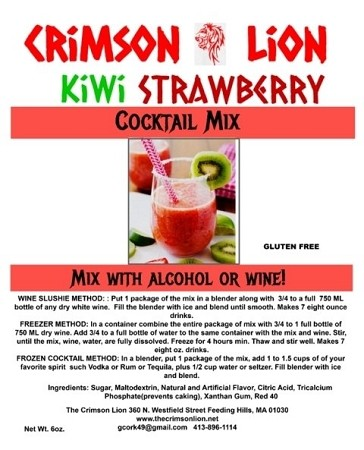 Kiwi Strawberry: Fresh and cool citrus drink that will make your day a happy one.