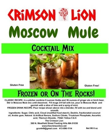 Moscow Mule: This is a popular  slush cocktail that  is made with the addition of Vodka, Birch Beer, and filling a copper mug to keep the tradition of COLD!