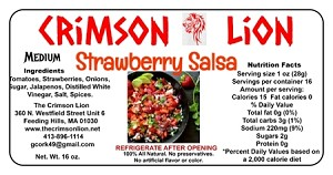 Strawberry Salsa- 16 oz