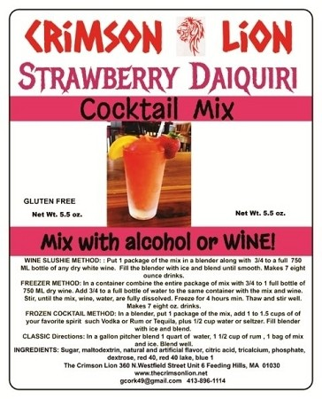 Strawberry Daiquiri is a favorite of many